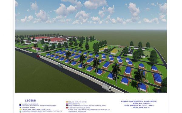 Kumbit Ibom Industrial Park Plan