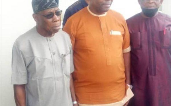 Courtesy Visit to Former President Olusegun Obasanjo of Nigeria