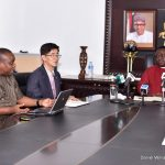 KUMBIT GLOBAL PRESIDENT WITH CROSS RIVER STATE GOVERNOR